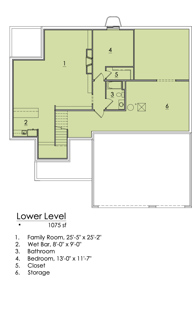 Holly Plan Lower Level