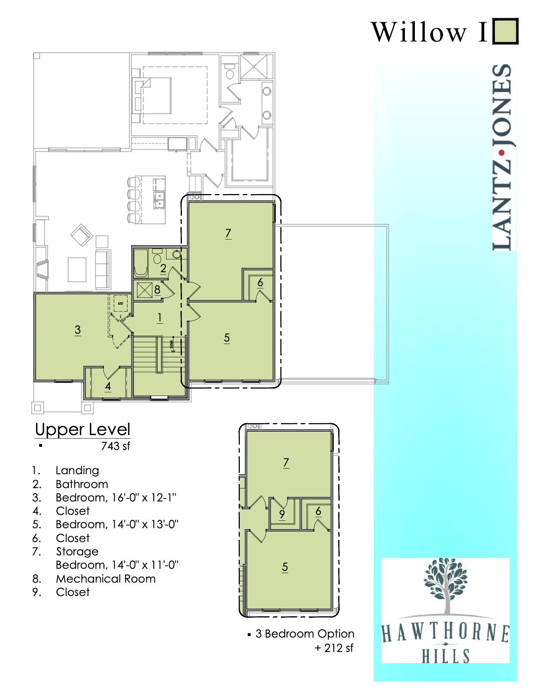 Willow 1 Upper Level