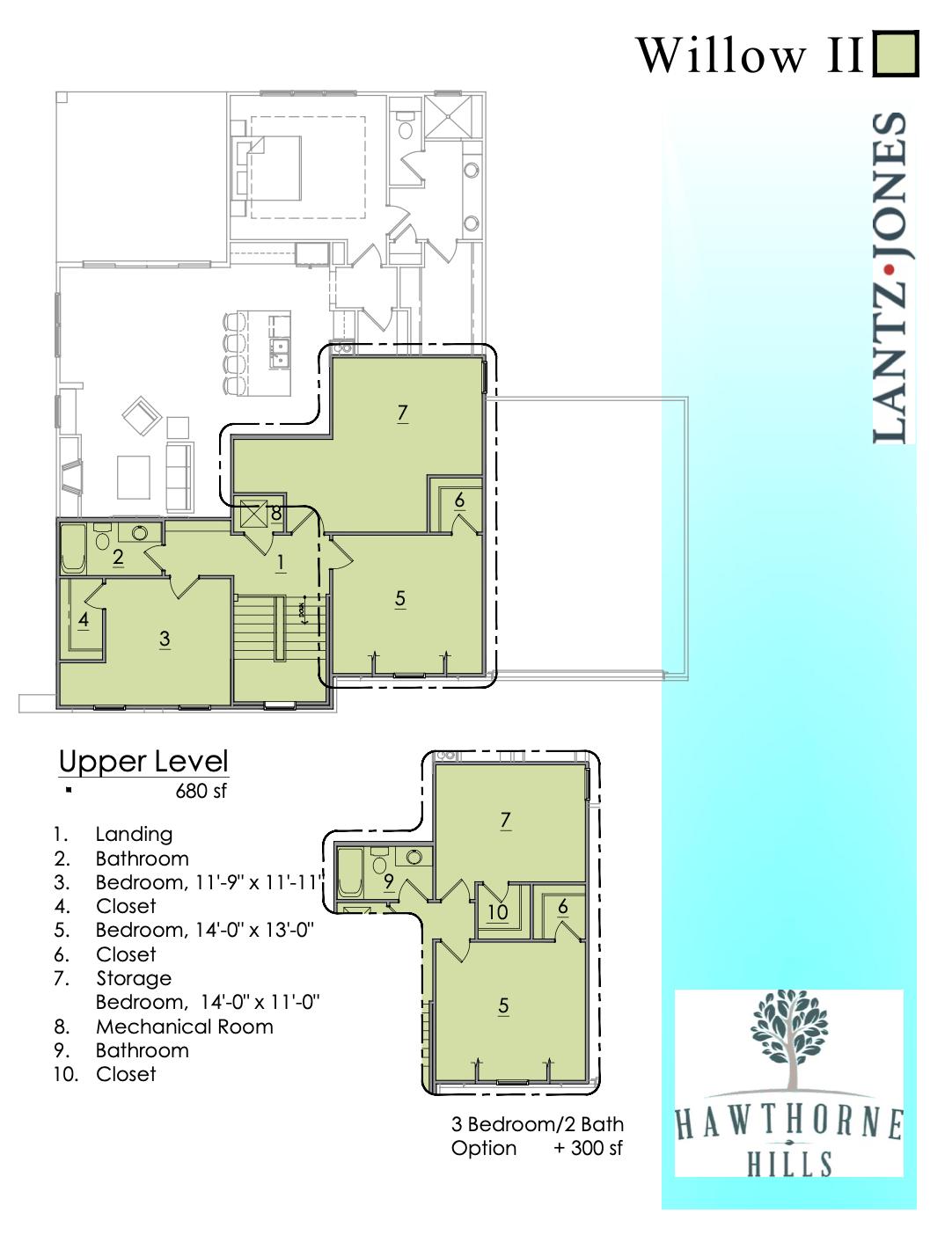 Willow 2 Upper Level